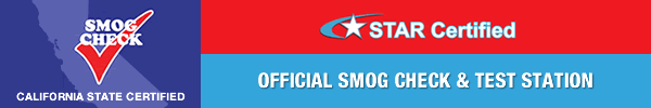 star certified official smog check station